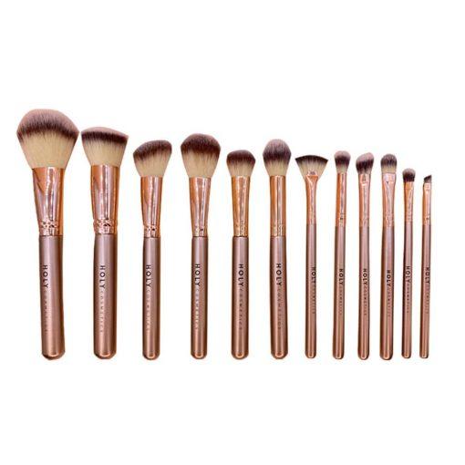 Brochas-maquillaje-deluxe-set-12-piezas-tendencia-2020-brochas-Holy-Cosmetics