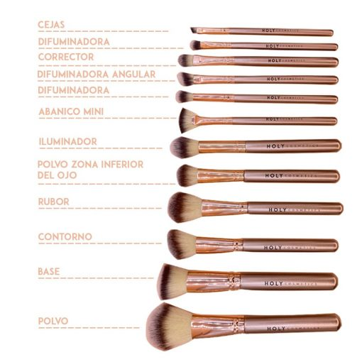 Modo-de-uso-brochas-maquillaje-deluxe-tendencia-2020-Holy-cosmetics