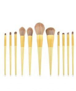 Brochas maquillaje sun set 11 piezas tendecia 2020 Holy Cosmetics