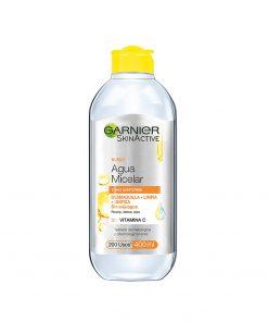 Agua-micelar-de-garnier-express-aclara-400-ml-Holy-cosmetics